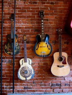 Fab Vintage Guitars from American Pickers Store, Nashville, TN