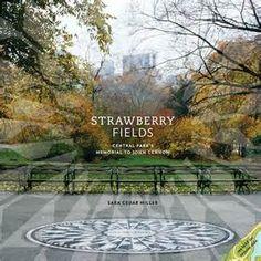 "Gloria and Eldon go sightseeing in his ""backyard"". Strawberry Fields, NYC"
