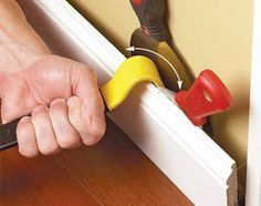 If you want to remove wood trim or baseboard, read these tips to avoid denting the wall or cracking the trim in the process. You'll avoid the additional hassle of having to repair a damaged wall: