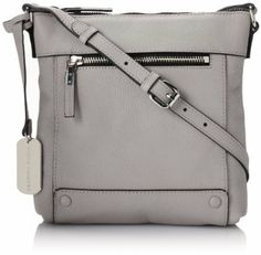 searching for a grey crossbody bag, this is sleek, functional and neutral enough.