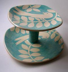 ken eardley: bird cakestand