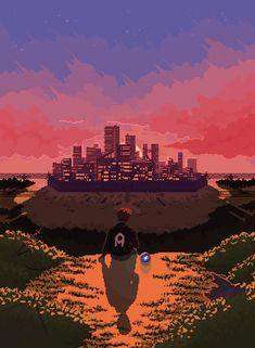 Art is Nice Art Kawaii, Kawaii Disney, Art Disney, Pixel Art Gif, Anime Pixel Art, Anime Art, Aesthetic Images, Aesthetic Anime, Aesthetic Wallpapers