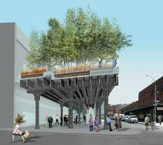 Diller Scofidio + Renfro: Reimagining Lincoln Center and the High Line #fc3arch