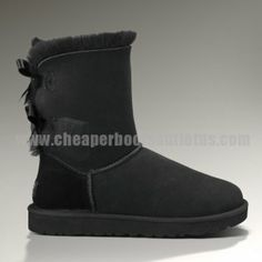 Bailey Bow 1002954 Ugg Boots - Black