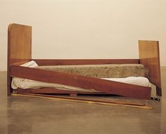 Jimmie Durham, 'A Stone Asleep in Bed at Home', 2000