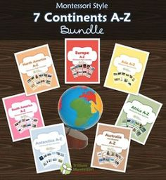 Montessori Nature: Asia - Free Printables. Resources for the Montessori Classroom