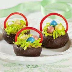 Donut Easter baskets