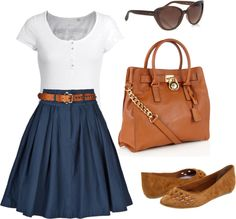 """Idk about the flats, but cuuuute! :) - """"6"""" by eadewolfe on Polyvore"""