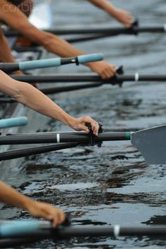 an often overlooked moment in rowing.