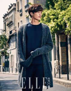 ZEA's Hyungsik Elle Magazine October 2015 Photoshoot Fashion