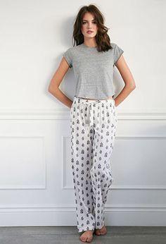 Paisley Floral PJ Pants Sleepwear Women 2e72c4ebc