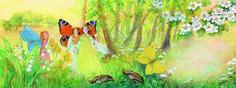 Illustration from Little Fairy Can't Sleep by Daniela Drescher