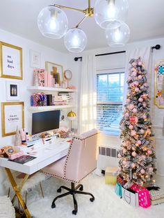 """Being a working mom with chronic medical conditions can be stressful and overwhelming. My """"mom cave"""" has become my perfect escape. Girl Cave, Babe Cave, Woman Cave, Home Office Space, Home Office Design, Home Office Decor, Office Ideas, Desk Ideas, Bedroom Office"""