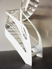 Escalier Design, Art Nouveau