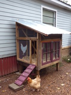 COOL COOPS! – THE RUSTIC / WHIMSICAL COOP