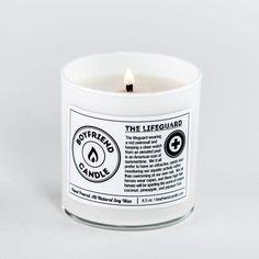 The Lifeguard Boyfriend Candle