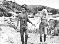 Brigitte Bardot & Bob Zaguri em Búzios, Brasil