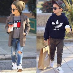 Toddler Boy Fashion, Little Boy Fashion, Toddler Boys, Baby Boy Dress, Baby Boy Outfits, Moda Kids, Boys Clothes Style, Estilo Fashion, Cute Outfits For Kids