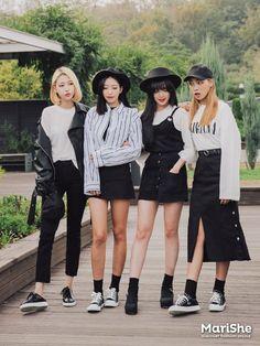 Korean Outfits black and white korean outfits with fashion Korean Outfits. Here is Korean Outfits for you. Korean Outfits image about ulzz. Korean Fashion Trends, Korean Street Fashion, Korea Fashion, Asian Fashion, Look Fashion, Girl Fashion, Fashion Outfits, Fashion Ideas, Fashion Black