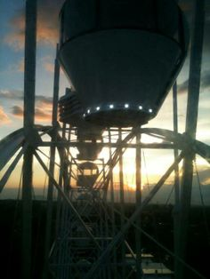 Almost at the top of the tallest Ferris Wheel in Tagaytay City
