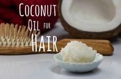 Coconut oil is a wonderful way to keep your hair and scalp beautiful inside and out.