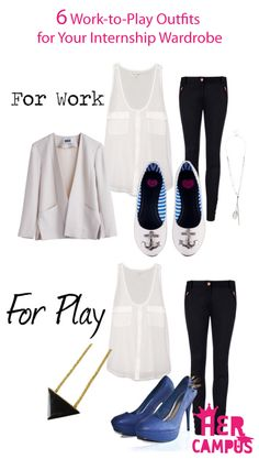 6 Work-to-Play Outfits for Your Internship Wardrobe