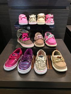 Oooooo if we have a girl this time she MUST rock some Sperry's!!