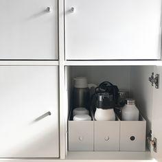 【100均&無印良品】の万能アイテムで食器・食品収納♡使いやすく美しいおしゃれなキッチン実例集!   folk