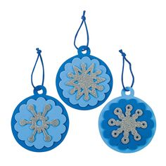 Round+Snowflake+Christmas+Ornament+Craft+Kit+-+OrientalTrading.com