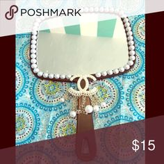 Beautiful Bling Fashion Hand Mirror Beautiful and Sheik Fashion Hand Mirror.  Look and feel glamorous at the same time. A diva's necessity. Accessories