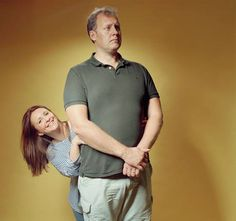 Justin Edwards and Lucy Porter have appeared together as husband and wife once, on the Radio 4 panel show Act Your Age (Matthew Stylianou)