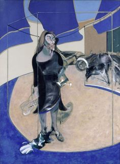 Francis Bacon - 'Portrait of Isabel Rawsthorne Standing in a Street in Soho' - (1967)