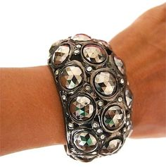 Kenneth J lane Gunmetal Cabochon Bubble Cuff Bracelet. Get the lowest price on Kenneth J lane Gunmetal Cabochon Bubble Cuff Bracelet and other fabulous designer clothing and accessories! Shop Tradesy now