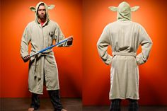 """Try not. Do, or do not. There is no try"",  when it comes to relaxing in this bathrobe worthy of a Jedi master."