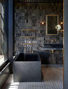 Bathroom Inspiration White Bathrooms Bathroom Design Ideas Bathrooms Bath Decor White Paint Bathroom Layout Bathroom Fixtures Bathroom Tub Styles Free Standing T. Bathroom Layout, Bathroom Interior Design, Modern Interior Design, Modern Bathroom, Paint Bathroom, White Bathrooms, Bathroom Black, Bathroom Ideas, Remodel Bathroom
