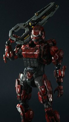 Play Arts Kai - Halo 4 Spartan Soldier by Square Enix: £62.99