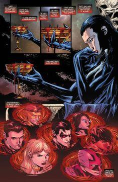 Teen Titans 20 Raven New 52 Dc Comics Girls, Fun Comics, Comic Book Characters, Comic Books, Young Justice Characters, Raven Cosplay, Raven Beast Boy, Graphic Novel Art, Justice League Dark