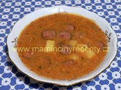 Gulášová zelňačka Cantaloupe, Soup, Fruit, Ethnic Recipes, Soups