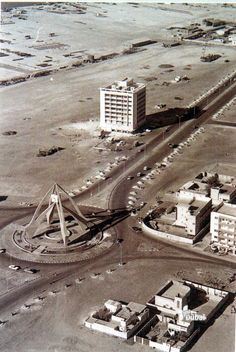 Dubai Clock Tower 1971. Dubai Clocktower was designed by engineer Edgar Bublik, General Manager of Overseas AST, and constructed by an ECC local builder around 1964. By 1972 the monument had started to crack and corrode the steel reinforcements