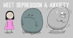 Despite how common Depression and anxiety disorders they are still really difficult to explain to people who may have never experienced a mental illness.