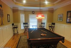 This study became a billiards room!