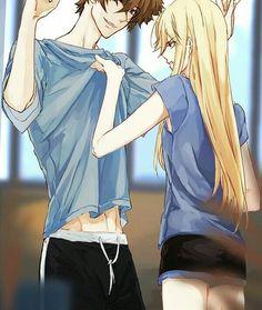 Ship or Skip ?~💕 {\_/} (•ᴗ•) /vv\⁀➷ Follow me @animeecouple for more cute pictures & videos~🐾 ───────────────── Anime