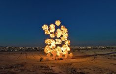 The Explosive Works of Cai Guo-Qiang | Hi-Fructose Magazine