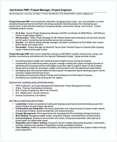 Entry Level Project Manager Resume Finance Entry Level Project Management Resume  Entry Level