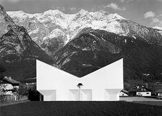 Pfarrkirche St. Emmaus, Josef Lackner, Völs- Austria, 1967 Innsbruck, Austria, Mount Everest, Mountains, Classic, Nature, Travel, Cardboard Packaging, City