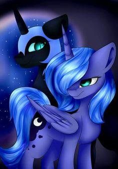 My Little Pony Comic, My Little Pony Drawing, Pegasus, Nightmare Moon, Princess Celestia, Mlp Pony, Believe In Magic, Funny Animal Memes, My Little Pony Friendship