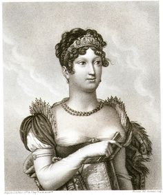 Marie Louise, Empress of France (2nd Wife of Napoleon) After N. Bertrand  c1825 #Realism