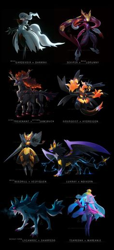 Pokemon Fusions 2017 by cat-meffYou can find Pokemon fusion and more on our website.Pokemon Fusions 2017 by cat-meff Pokemon Comics, Luxray Pokemon, Pokemon Pins, Pokemon Memes, Pokemon Cards, Pokemon Fusion Art, Pokemon Fan Art, Pokemon Real, Creepy Pokemon
