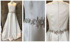 Jenny Packham 'Audrey' £1595 #jennypackham #audrey #designerweddingdressagency #bridetobe #prelovedweddingdress #weddinginspo