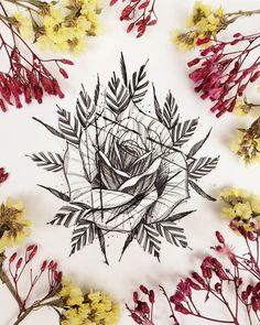 Destaques Tattoo2me: Conheça seu artista aqui - Blog Tattoo2me Abstract, Instagram, Drawings, Artwork, Blog, Amazing Photos, Tattoo, Zaragoza, Artists